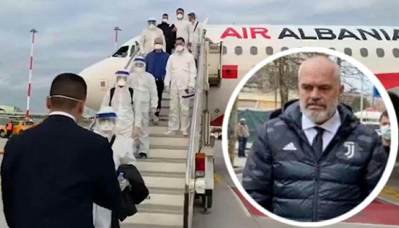 Covid-19, arrivati dall'Albania 30 medici e infermieri. Il Premier ...