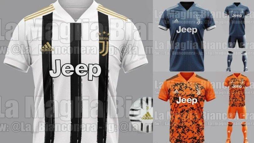 Rivelata la nuova maglia della Juventus per la stagione 2020-2021 ...